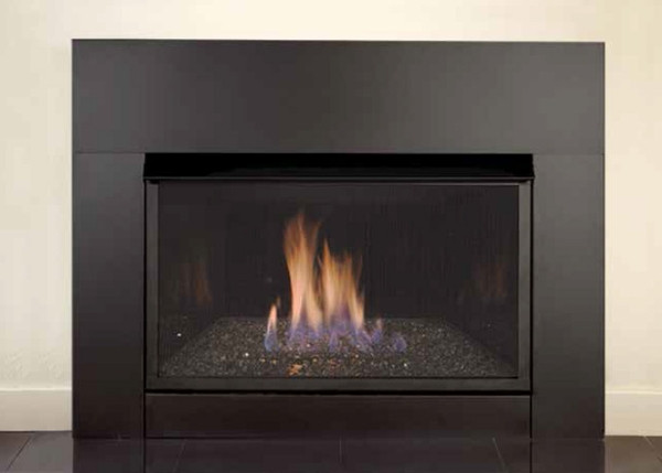 """Best ideas about Vent Free Gas Fireplace Insert . Save or Pin Monessen 33"""" Solstice Contemporary Vent Free Gas Fireplace Now."""