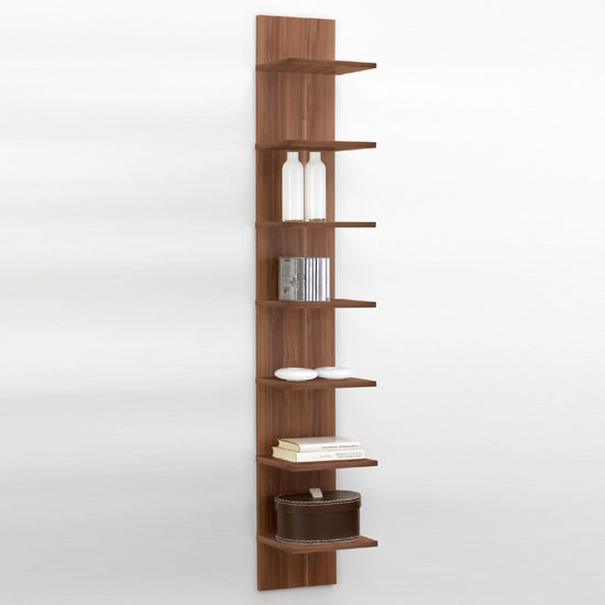Best ideas about Vertical Wall Shelf . Save or Pin Vertical Purple fice Shelving Flip Buy Modern Home Now.