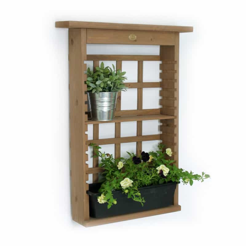 Best ideas about Vertical Wall Shelf . Save or Pin 15 Smart Space Saving Furniture and Flower Planters for Now.