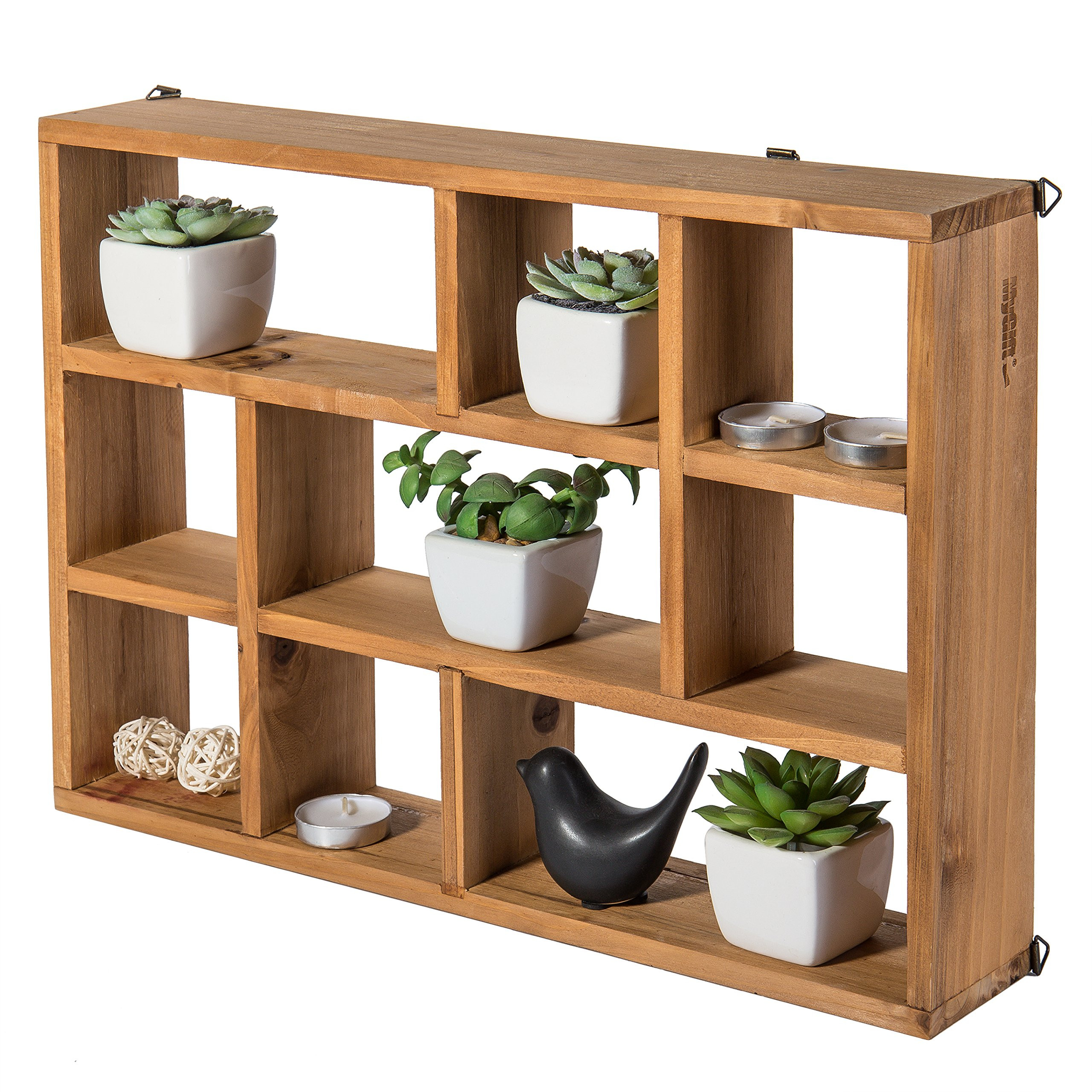 Best ideas about Vertical Wall Shelf . Save or Pin Galleon 15 Inch Wall Mount Vertical Horizonal 9 Now.