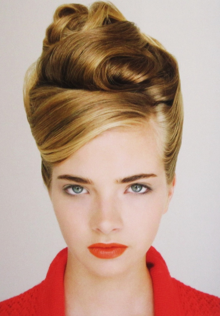Best ideas about Vintage Updos Hairstyles . Save or Pin 27 Retro Hairstyle Ideas For Women InspirationSeek Now.