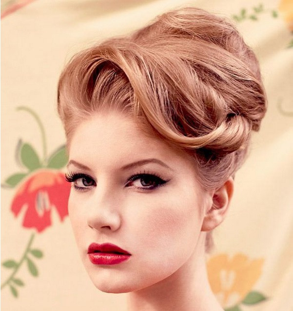 Best ideas about Vintage Updos Hairstyles . Save or Pin Poise Passion 15 Vintage Hair Updo to Try Even Today as Now.