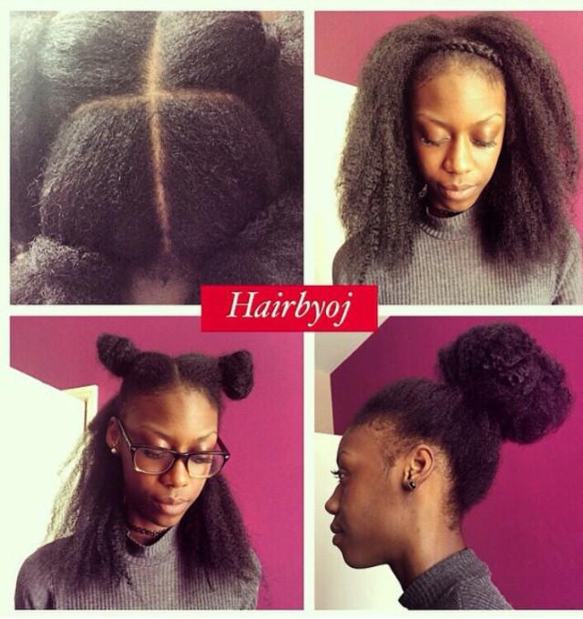 Best ideas about Vixen Crochet Hairstyles . Save or Pin Shoulder length knotless 4 way part vixen crochet braids Now.