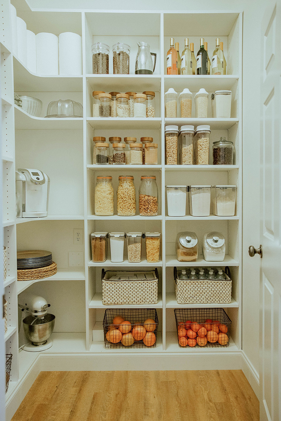 Best ideas about Walk In Pantry . Save or Pin Laundry Room to Walk in Pantry Reveal Now.
