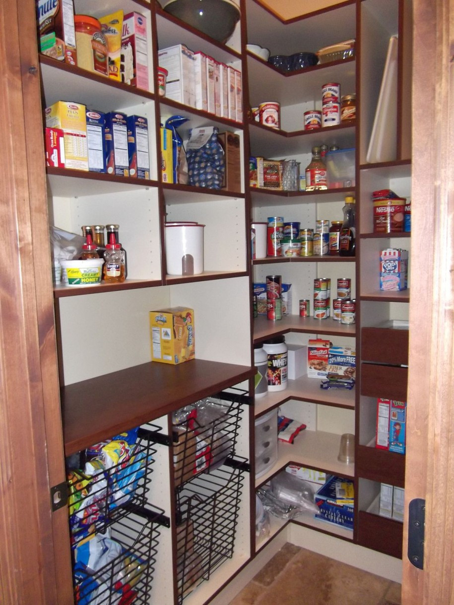 Best ideas about Walk In Pantry . Save or Pin Kitchen Brilliant Kitchen Pantry Makeover Ideas to Now.