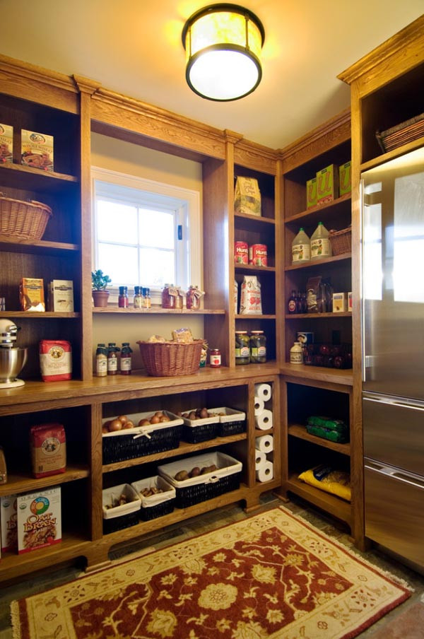 Best ideas about Walk In Pantry . Save or Pin 25 Great Pantry Design Ideas For Your Home Now.