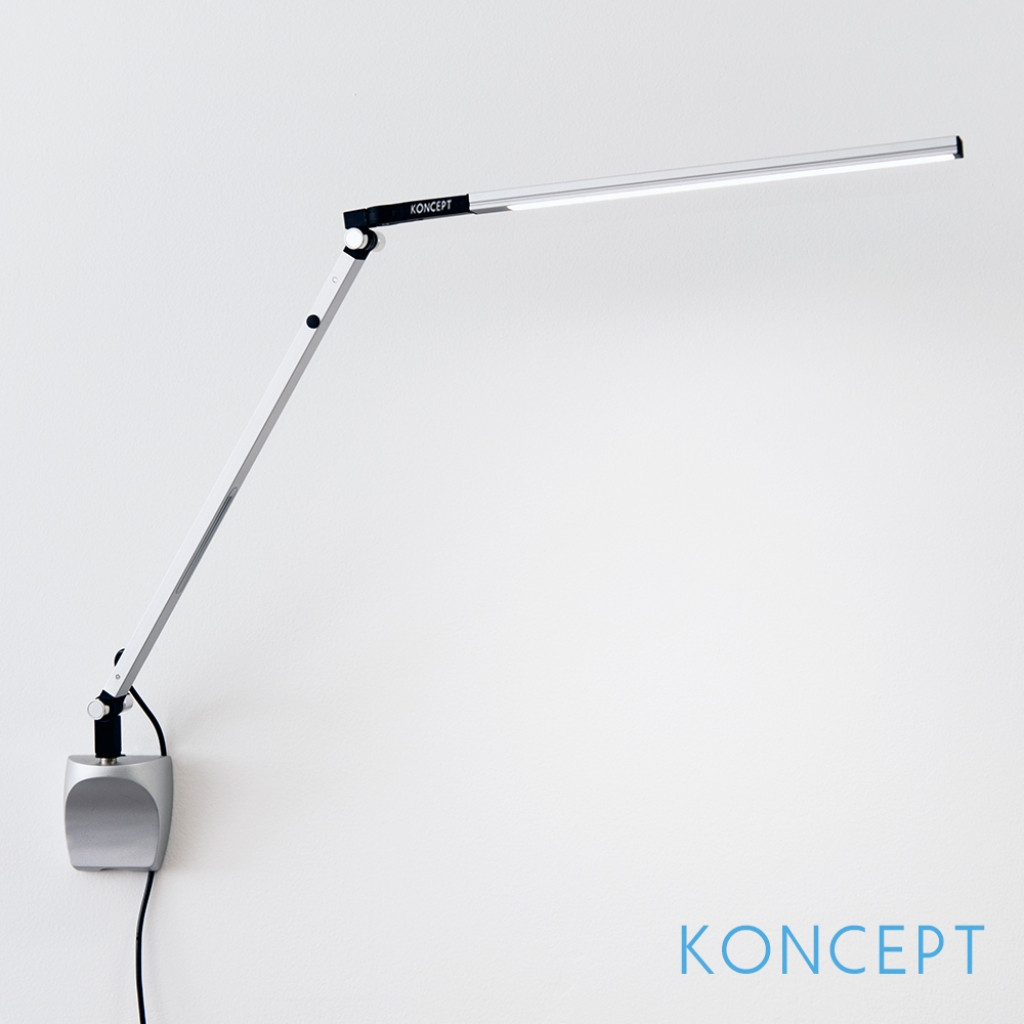 Best ideas about Wall Mountable Desk Lamp . Save or Pin Z Bar Solo Mini Led Desk Lamp Koncept Metropolitandecor in Now.