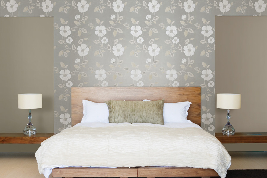 Best ideas about Wallpaper Accent Wall Bedroom . Save or Pin Accent Walls Now.