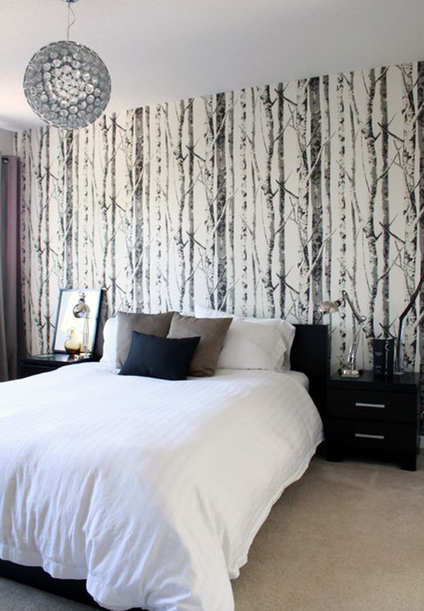 Best ideas about Wallpaper Accent Wall Bedroom . Save or Pin 15 Bedroom wallpaper ideas styles patterns and colors Now.