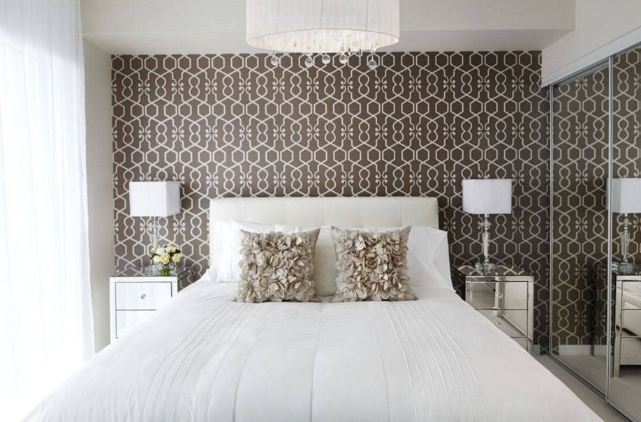 Best ideas about Wallpaper Accent Wall Bedroom . Save or Pin 20 Ways Bedroom Wallpaper Can Transform the Space Now.