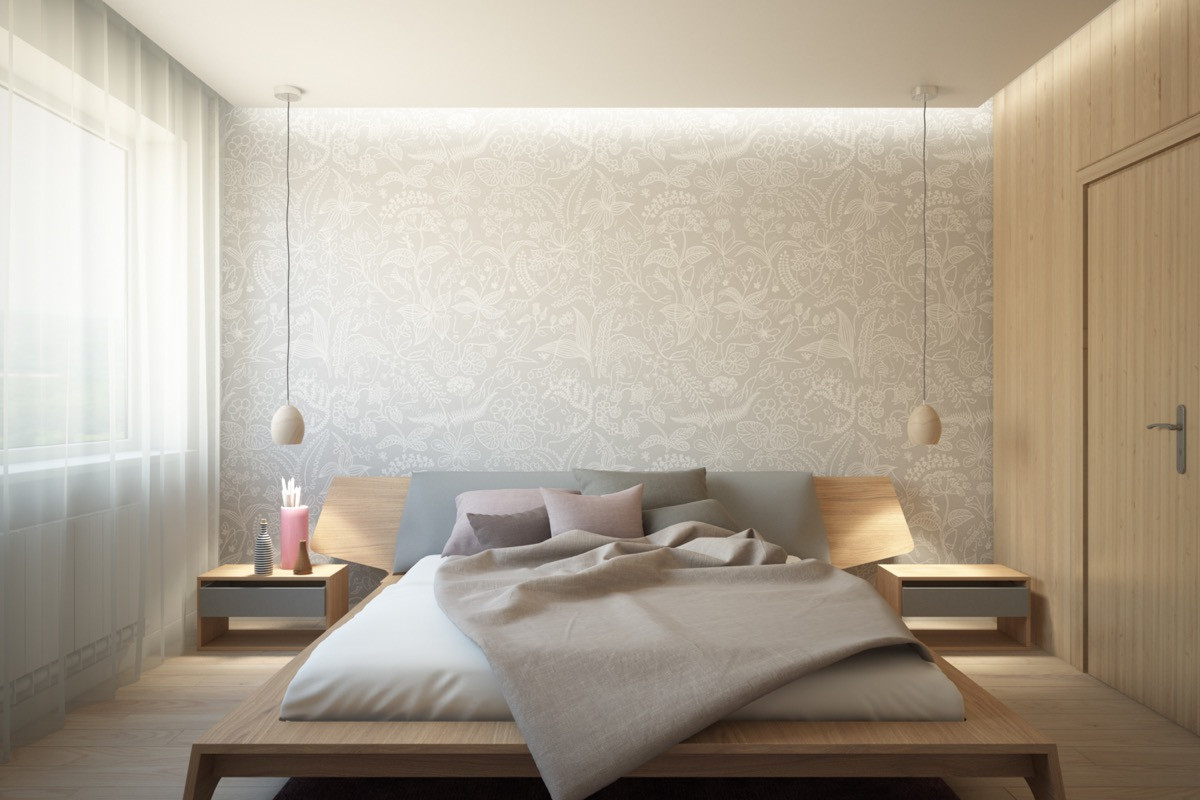 Best ideas about Wallpaper Accent Wall Bedroom . Save or Pin 44 Awesome Accent Wall Ideas For Your Bedroom Now.