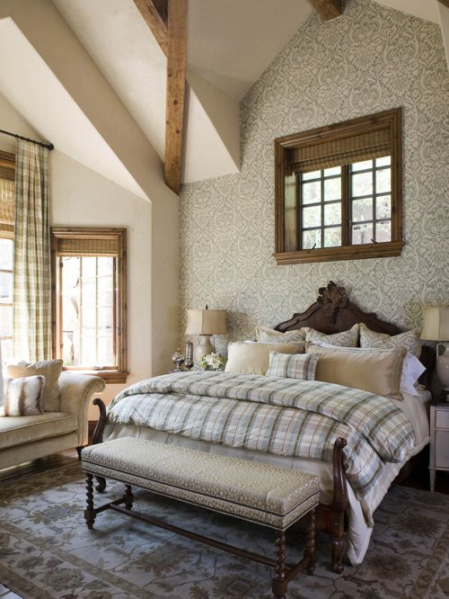Best ideas about Wallpaper Accent Wall Bedroom . Save or Pin Wallpaper Accent Wall Home Design Ideas Remodel Now.