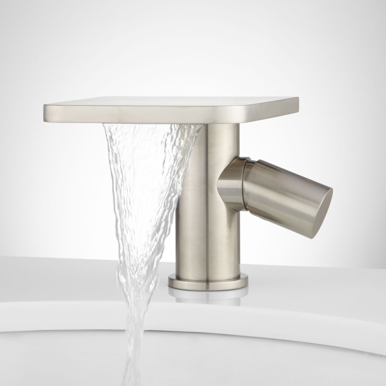 Best ideas about Waterfall Bathroom Faucet . Save or Pin Knox Single Hole Waterfall Bathroom Faucet with Pop Up Now.