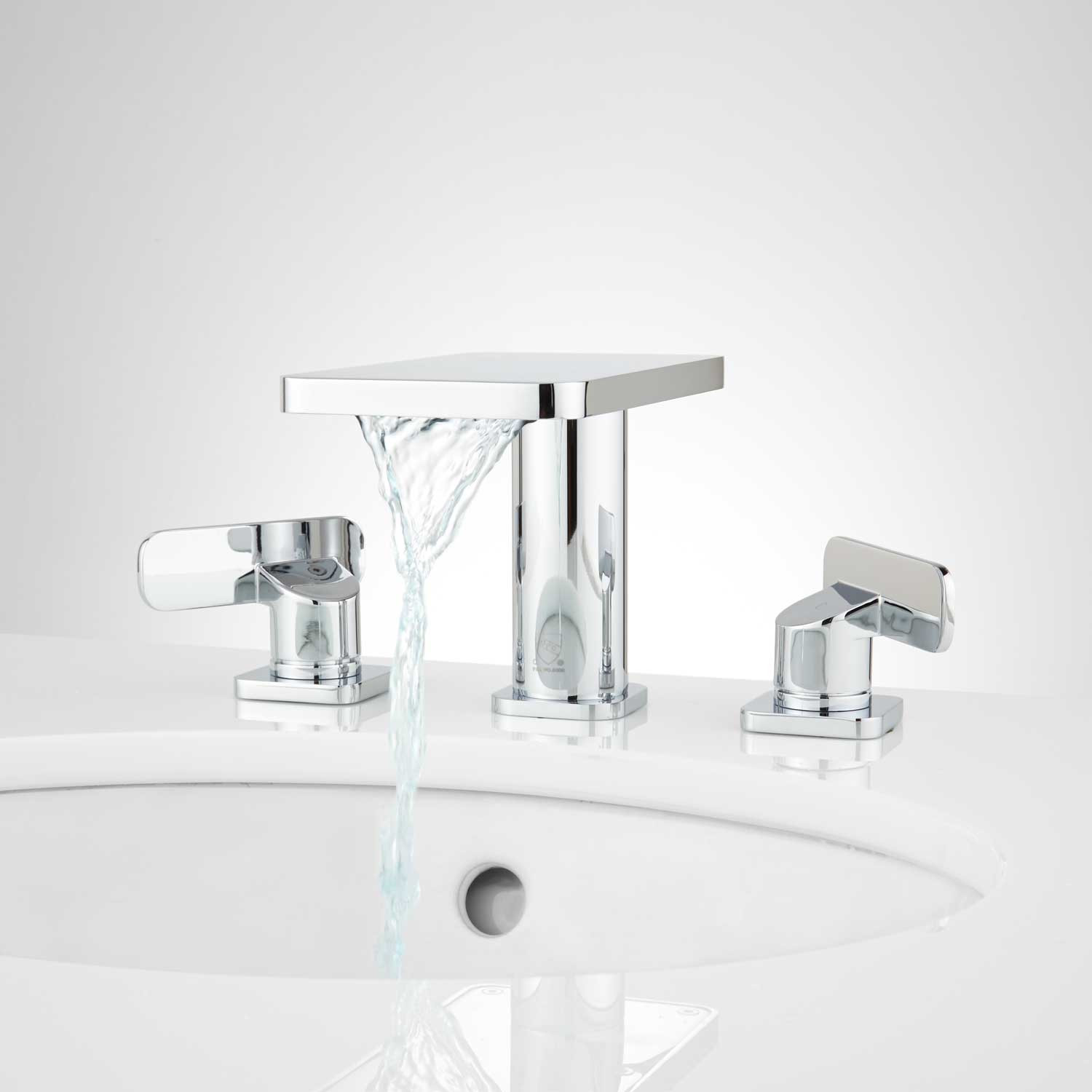 Best ideas about Waterfall Bathroom Faucet . Save or Pin Morata Widespread Waterfall Bathroom Faucet Bathroom Now.