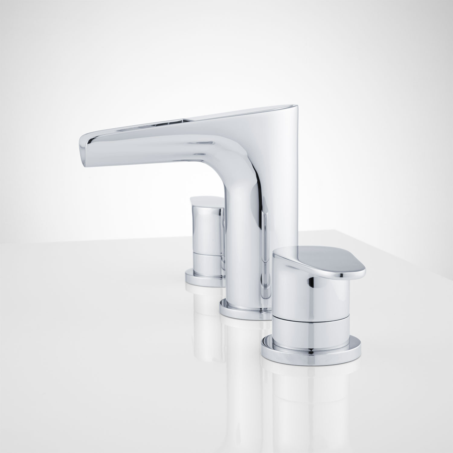 Best ideas about Waterfall Bathroom Faucet . Save or Pin Pagosa Widespread Waterfall Faucet Bathroom Sink Faucets Now.