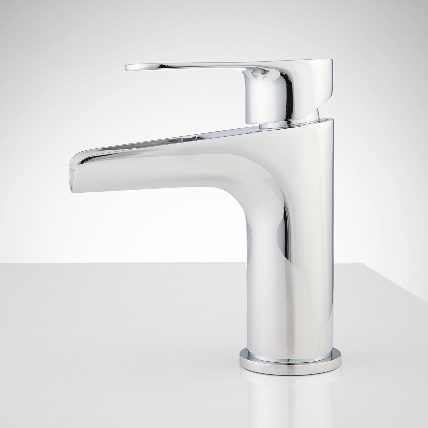 Best ideas about Waterfall Bathroom Faucet . Save or Pin Pagosa Waterfall Single Hole Bathroom Faucet Bathroom Now.