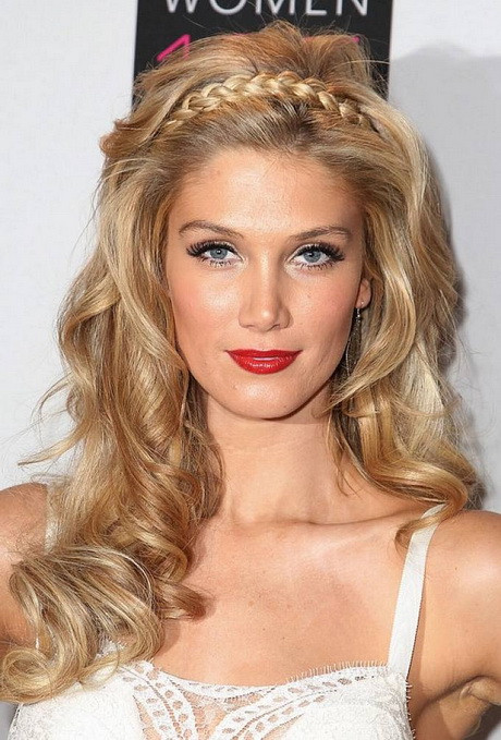 Best ideas about Wavy Hairstyles For Prom . Save or Pin Prom hairstyles for thick curly hair Now.