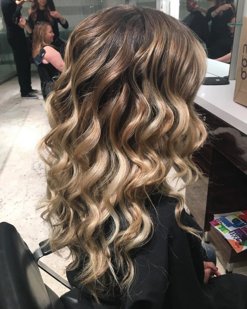 Best ideas about Wavy Hairstyles For Prom . Save or Pin Curly Hairstyles for Prom Now.