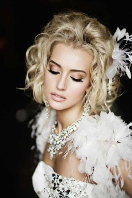 Best ideas about Wavy Wedding Hairstyle . Save or Pin 59 Stunning Wedding Hairstyles for Short Hair 2017 Now.