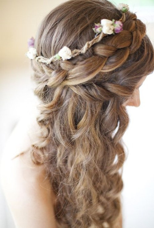 Best ideas about Wavy Wedding Hairstyle . Save or Pin Wedding Curly Hairstyles – 20 Best Ideas For Stylish Brides Now.