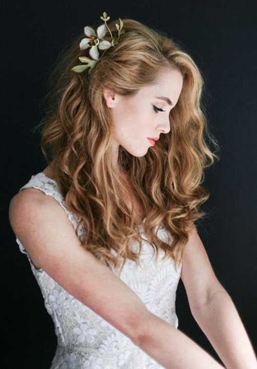 Best ideas about Wavy Wedding Hairstyle . Save or Pin 25 Simple Bridal Hairstyles Now.
