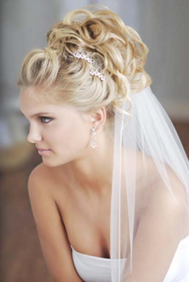 Best ideas about Wavy Wedding Hairstyle . Save or Pin HAIRCUTS FOR MEDIUM LENGTH HAIR CURLY WEDDING HAIRSTYLES Now.