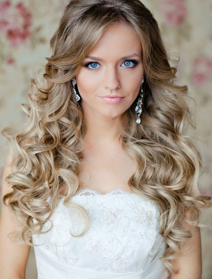 Best ideas about Wavy Wedding Hairstyle . Save or Pin Best Curly Wedding Hairstyles For Brides Fave HairStyles Now.