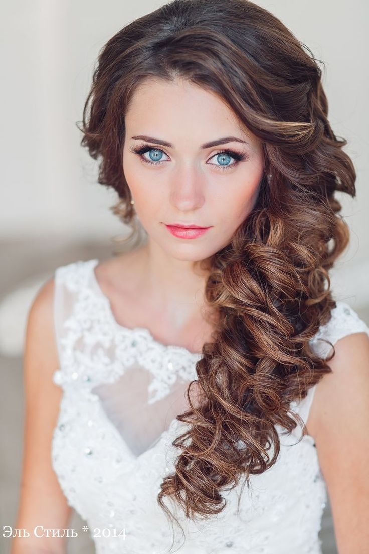 Best ideas about Wavy Wedding Hairstyle . Save or Pin Best Hair Style For Bride long half up wavy wedding Now.