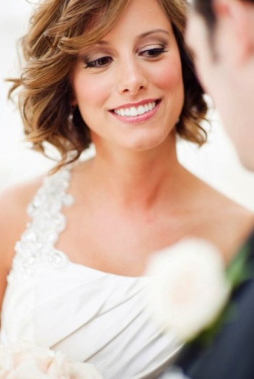 Best ideas about Wavy Wedding Hairstyle . Save or Pin Short Wedding Hairstyle Ideas 22 Bridal Short Haircuts Now.