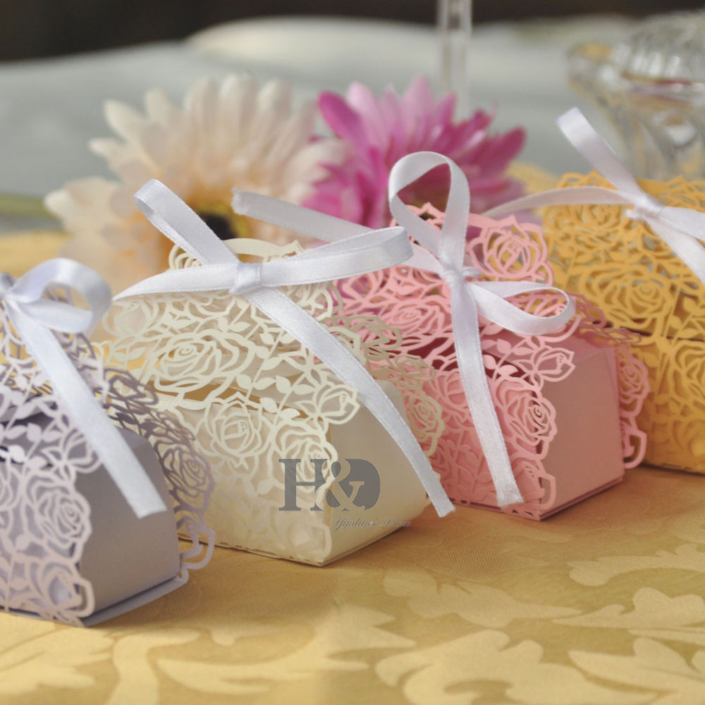 Best ideas about Wedding Favor Gift Ideas . Save or Pin Wholesale Rose Candy Boxes Wedding Favor Party Gift Boxes Now.