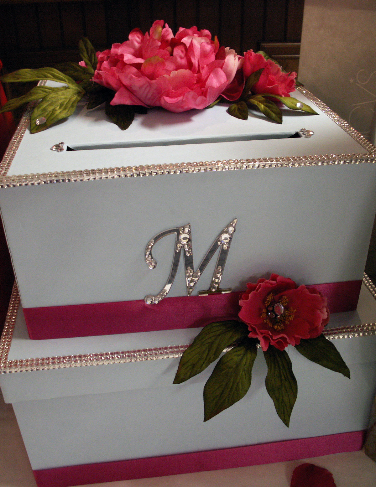 Best ideas about Wedding Gift Card Boxes Ideas . Save or Pin DIY Wedding Card Box Project Now.