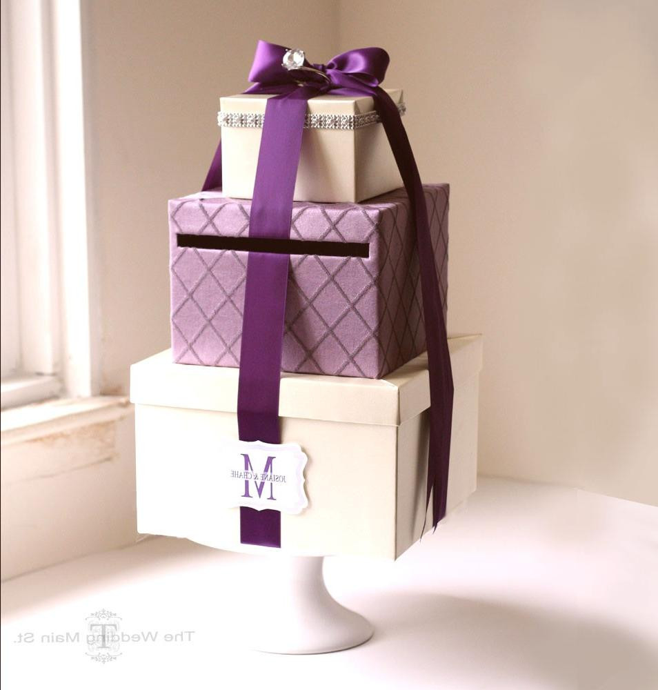 Best ideas about Wedding Gift Card Boxes Ideas . Save or Pin Wedding World Wedding Gift Card Box Ideas Now.