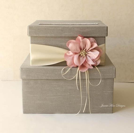 Best ideas about Wedding Gift Card Boxes Ideas . Save or Pin Wedding Card Box Wedding Money Box Gift Card Box Custom Made Now.
