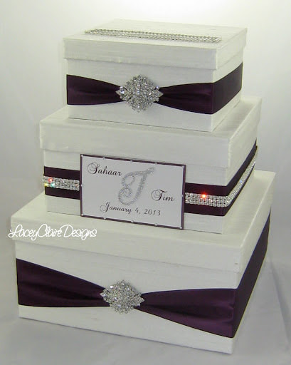 Best ideas about Wedding Gift Card Boxes Ideas . Save or Pin Wedding Gift Box Bling Card Box Rhinestone Money Holder Now.