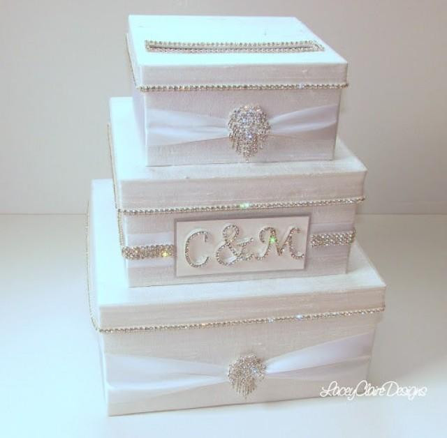 Best ideas about Wedding Gift Card Boxes Ideas . Save or Pin Wedding Card Box Bling Card Box Rhinestone Money Holder Now.
