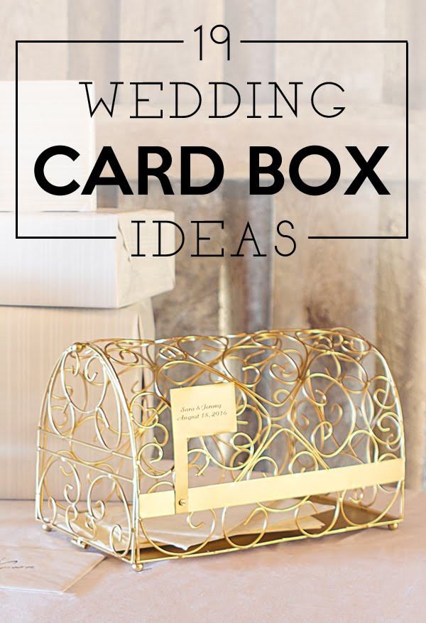 Best ideas about Wedding Gift Card Boxes Ideas . Save or Pin 19 Wedding Gift Card Box Ideas Now.