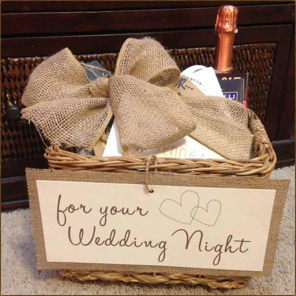 Best ideas about Wedding Gift Ideas For Bridegroom . Save or Pin Could be a cute idea for the bride Wedding Night Now.