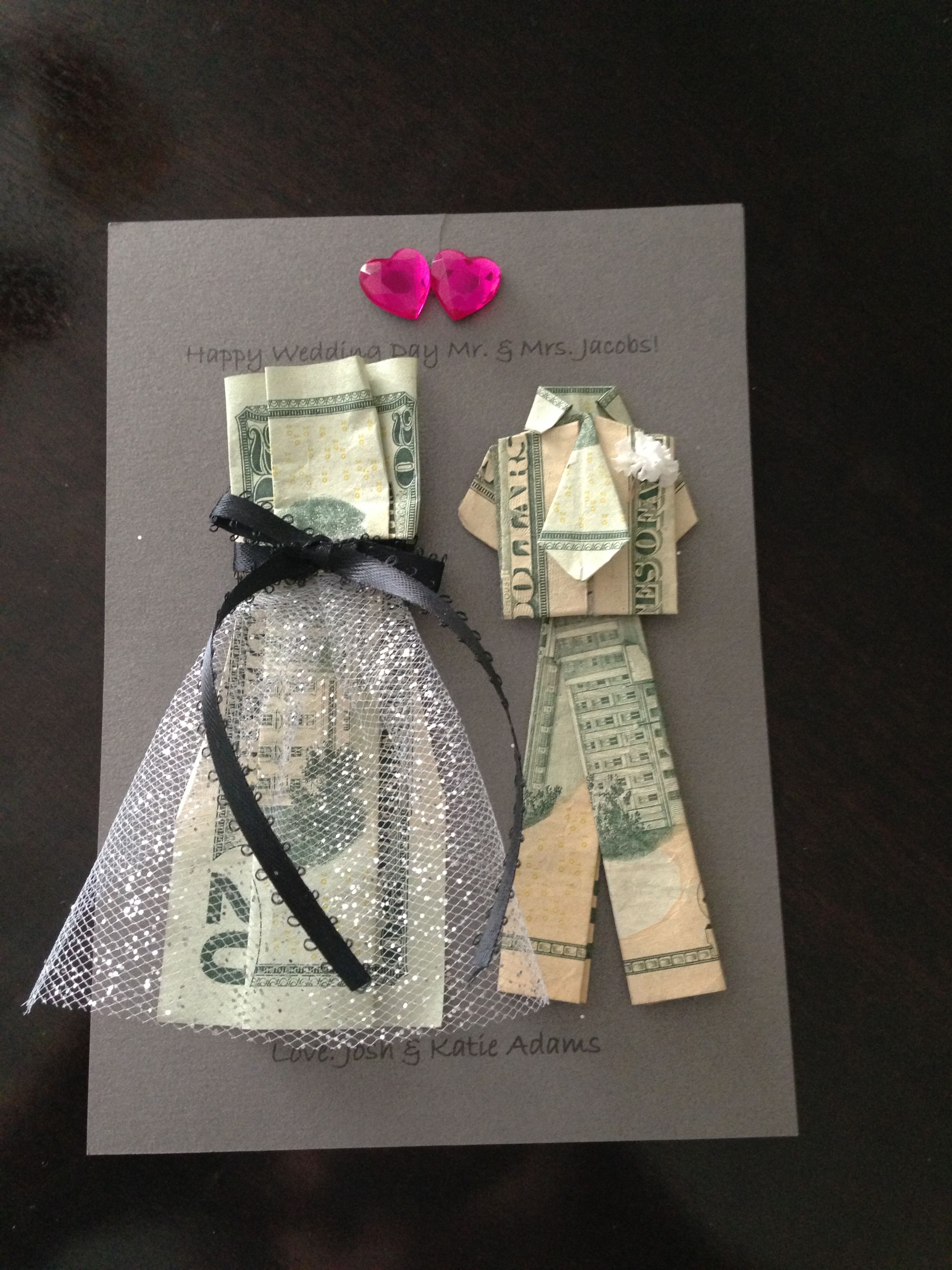Best ideas about Wedding Gift Ideas For Bridegroom . Save or Pin Wedding Money Gifts on Pinterest Now.