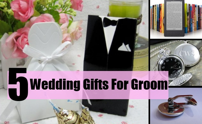 Best ideas about Wedding Gift Ideas For Bridegroom . Save or Pin 5 Elegant Wedding Gifts For Groom Wedding Gift Ideas For Now.