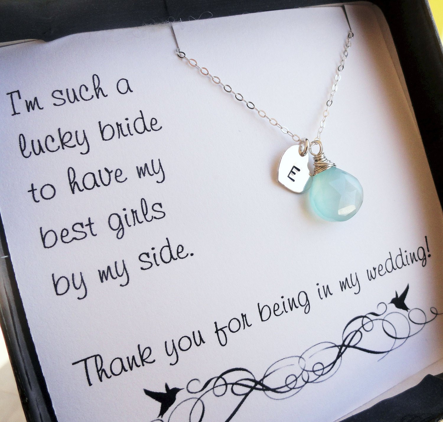 Best ideas about Wedding Gift Ideas For Bridesmaids . Save or Pin Personalized Bridesmaid ts THREE bridesmaid thank you Now.