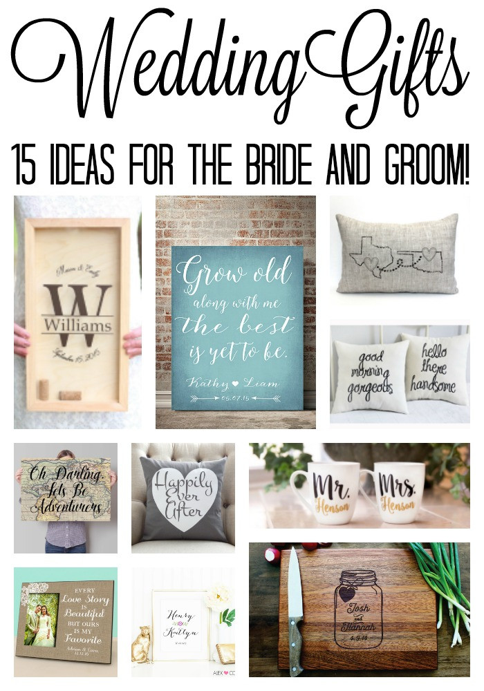 Best ideas about Wedding Gift Ideas From Groom To Bride . Save or Pin Wedding Gift Ideas The Country Chic Cottage Now.