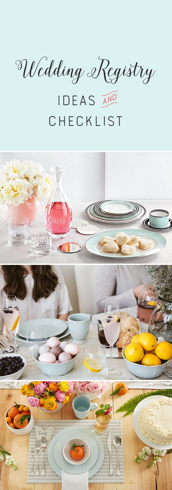 Best ideas about Wedding Gift Registry Ideas . Save or Pin The 25 best Wedding registry checklist ideas on Pinterest Now.