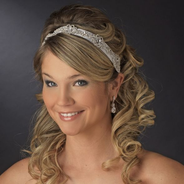 Best ideas about Wedding Hairstyles With Headband . Save or Pin long wedding hairstyles with headband Now.