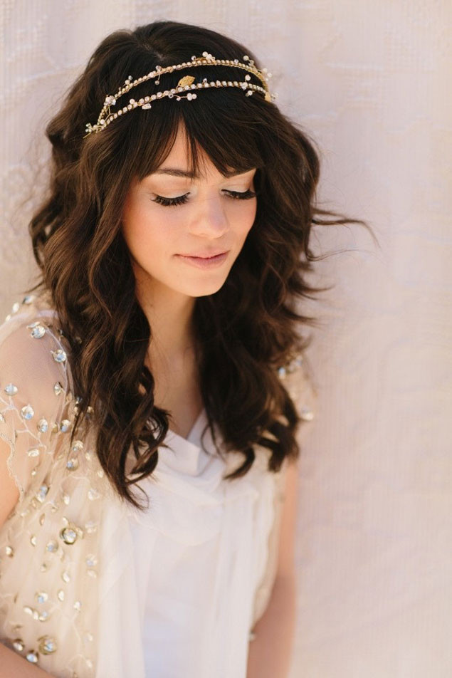 Best ideas about Wedding Hairstyles With Headband . Save or Pin 20 Wedding Hairstyles With Headband Ideas Wohh Wedding Now.