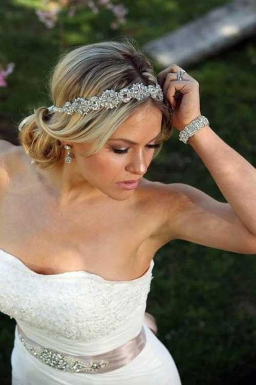 Best ideas about Wedding Hairstyles With Headband . Save or Pin 23 New Beautiful Wedding Hair Now.