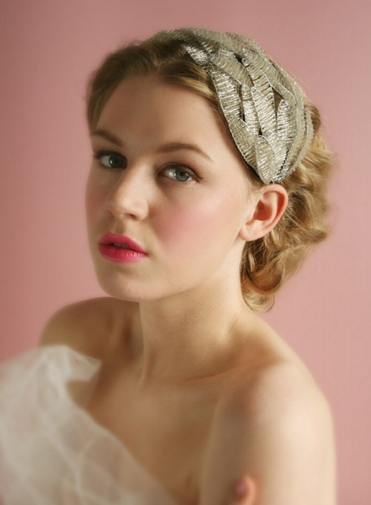 Best ideas about Wedding Hairstyles With Headband . Save or Pin Short Wedding Hairstyle Ideas 22 Bridal Short Haircuts Now.