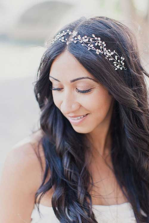 Best ideas about Wedding Hairstyles With Headband . Save or Pin 20 Hairstyles for Wedding Long Hair Now.