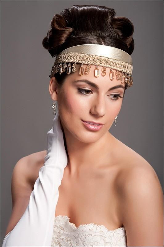 Best ideas about Wedding Hairstyles With Headband . Save or Pin Bridal Headbands Hairstyles Now.