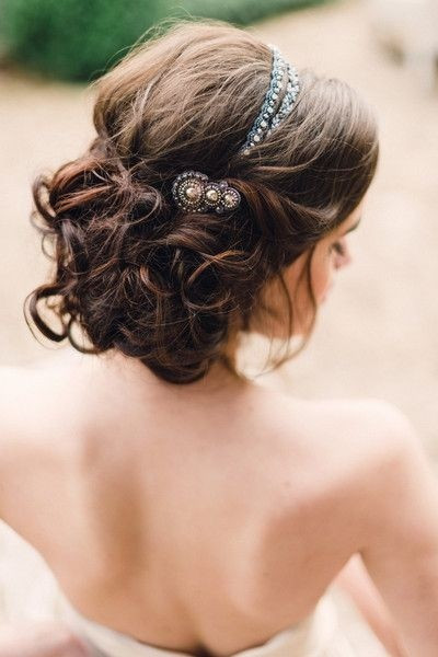 Best ideas about Wedding Hairstyles With Headband . Save or Pin 36 Breath Taking Wedding Hairstyles for Women Pretty Designs Now.