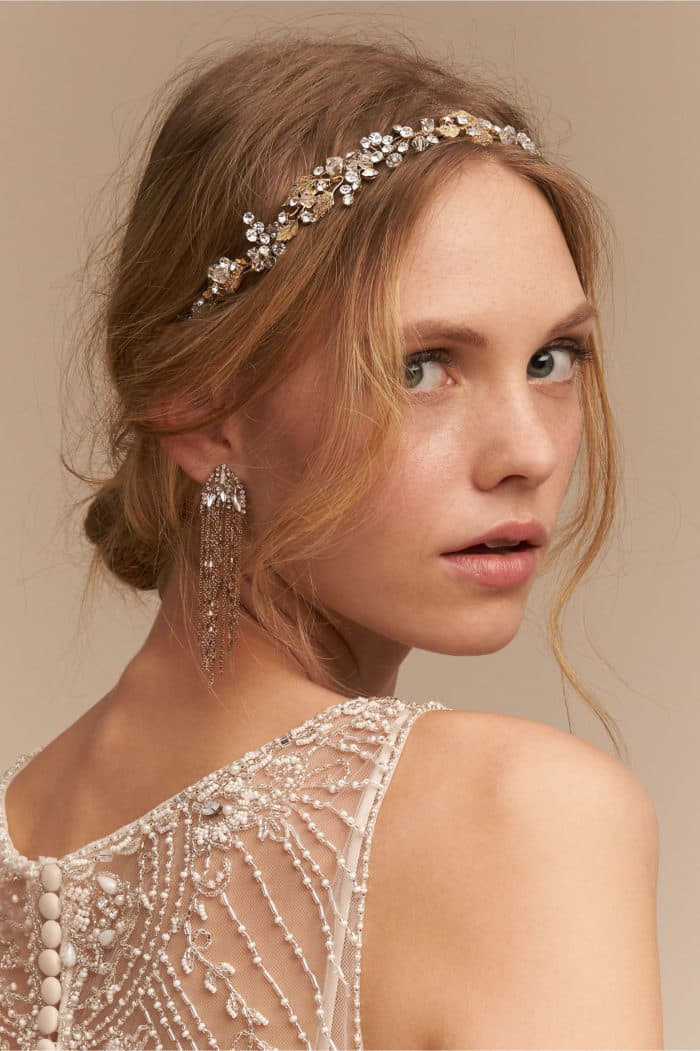 Best ideas about Wedding Hairstyles With Headband . Save or Pin Bridal Headbands for Gorgeous Wedding Hairstyles Now.